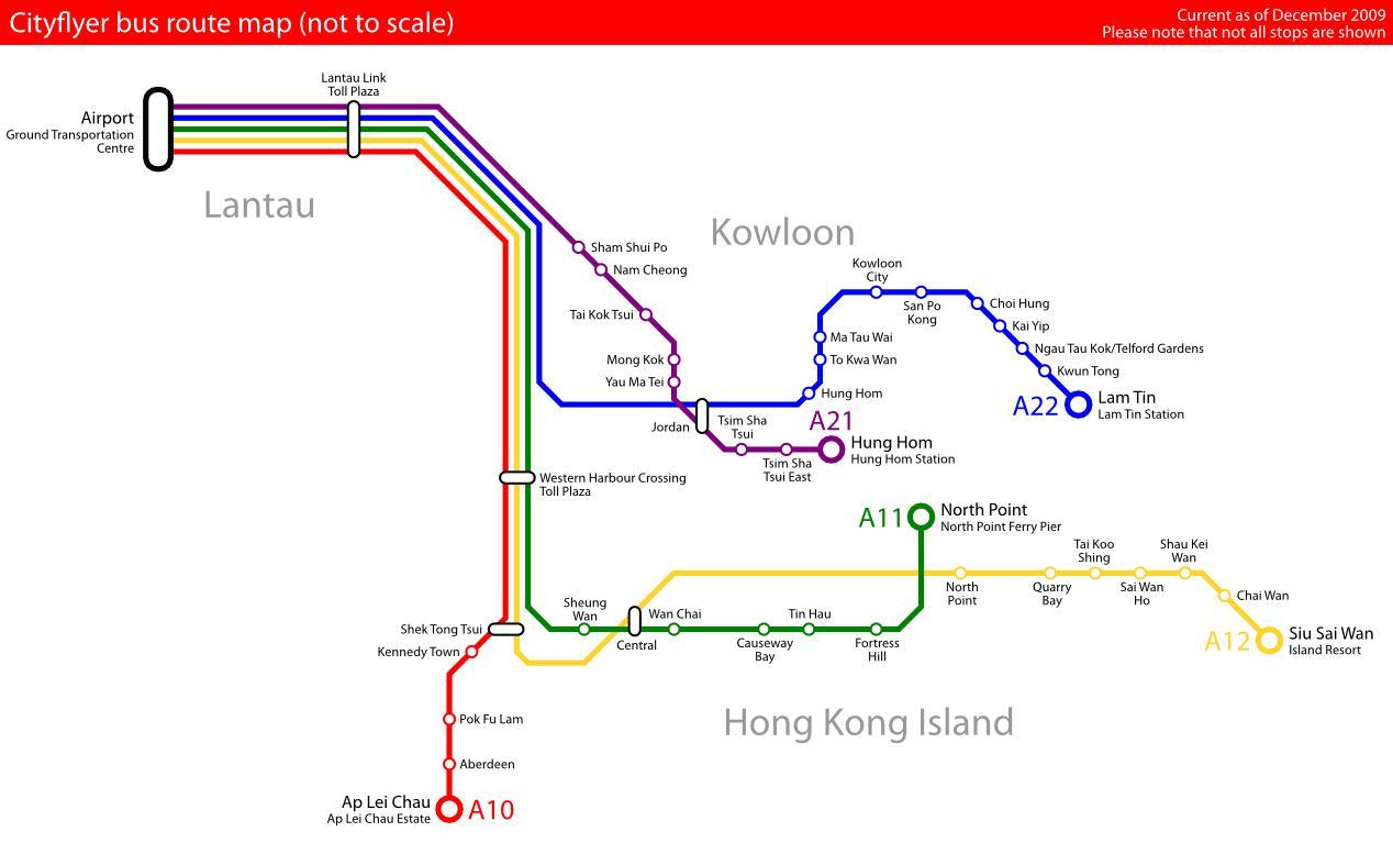 Hong Kong Bus Map Hong Kong Bus Route Map China - Paris bus route map in english