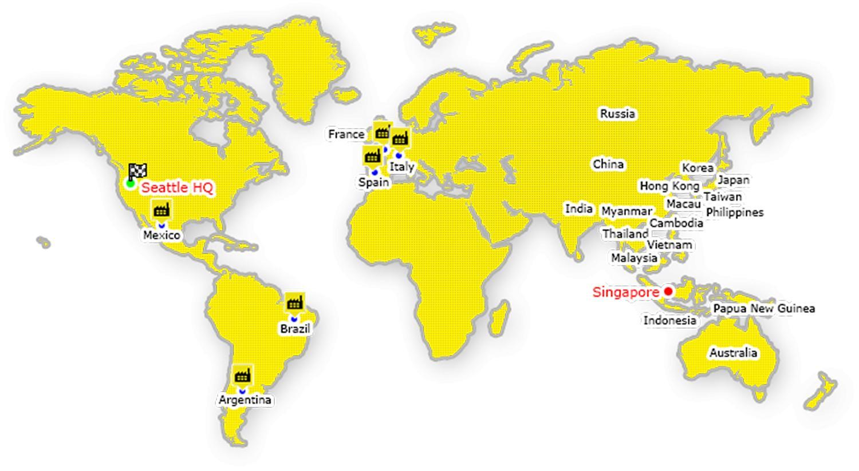 Hong Kong on world map - Hong Kong on the world map (China)