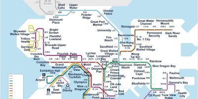 Metro Map Hk.Hong Kong Map Maps Hong Kong China