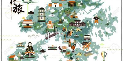 HongKong map Maps HongKong China
