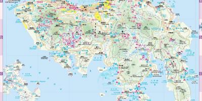 Hong kong map maps hong kong china offline hong kong map gumiabroncs Image collections